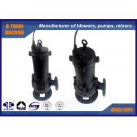 China Rain Submersible Sewage Pump pressure 14m , industrial submersible water pumps on sale