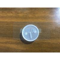 Customized Groove Sapphire Parts Single Crystal Glass Lens With Hole Manufactures