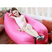 Outdoor Inflatable Toys 225*85cm Fast Beach Sleeping Bag Lazy Lounge Bed 14 Colors Manufactures