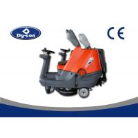 CE Certificated Ride On Auto Floor Scrubber Machine , Tile Cleaning Machine Manufactures