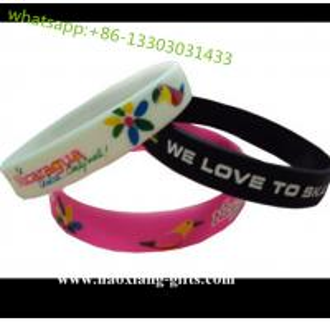 China 202*12*2mm custom logo Silicone Bangles Bracelets  Laser wristband on sale