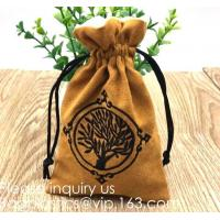 Black Velveteen Sack Pouch Bags for Jewelry, Gifts, Event Supplies,cell phones, small electronics or used at pencils pou Manufactures