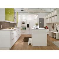 China Custom Kitchen Storage Cabinets With  Marble / Granite / Quartz Stone Countertop on sale