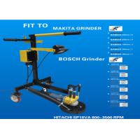 220V/50HZ Floor Grinding Machine Concrete Edge Grinder With Dustless Shroud System Manufactures