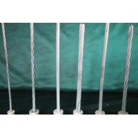 Bright 1*7 1*19 Galvanised Steel Cable With Strong Corrosion Resistance Manufactures