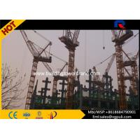 Luffing Travelling Tower Crane , Luffing Boom Crane Freestanding Height 50M Manufactures