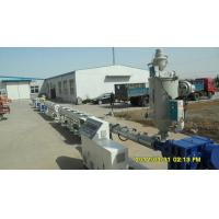 Automatic Plastic Pipe Extrusion Line For PP-R Cool / Hot Water Pipe Manufactures