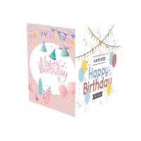 Holiday Musical Greeting Cards A5 A6 Sound Chip Foil Materail With 3GB Battery Manufactures