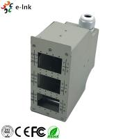 Industrial DIN - Rail Fiber Patch Panel 24 Ports Harsh Environment Application Manufactures