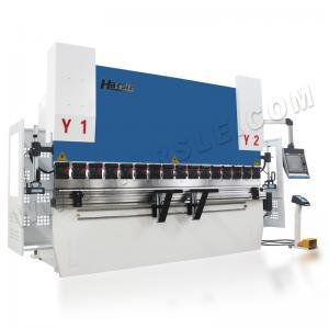 CNC Synchronized  110T DA66T Controller Capacity 3200mm Length Press Brake Machine Manufactures