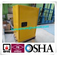 Storage Flammable Safety Cabinets For Liquid , Industry Paint Safety Storage Cabinets Manufactures