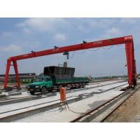 China Electric Box Single Girder Gantry Crane for Construction Sites with CD/MD hoist on sale