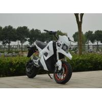 China Electric Motorcycle Scooter With Lithium Battery , 3000w Electric Scooter For Adults on sale