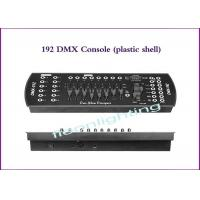 China 10W DMX Lighting Controller DMX 192CH Console With Plastic Shell wholesale
