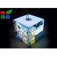 40 Watt LED Cube Light Box 3030 SMD LED Module Light With Ceiling Hanging Kits Manufactures