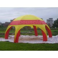 China PVC Tarpaulin Inflatable Airtight Dome Tent For Sale on sale