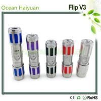 Colored Stainless Steel Flip V3 Mech Mod Manufactures