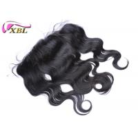 Durable Full Size Ear To Ear Lace Frontal With Body Wave Style , 12 Inch To 20 Inch Manufactures