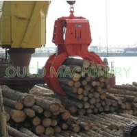 Wood Handling 360 Degree Electro Hydraulic Clamshell Manufactures