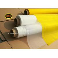 Quality Low Elongation Thermal Screen Printing Mesh Roll 33 - 420 Mesh / Inch for sale