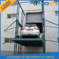 China 3000kgs 4 post Car Hydraulic Elevator Lift Widely for Warehouses / Factories / Garage on sale