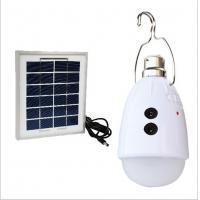 DC / AC Power Solar LED Emergency Light for Home or Camping Lighting Manufactures