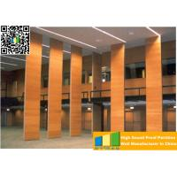 China Powder Coated Meeting Room Sound Proof Partitions / Panels With Track System on sale