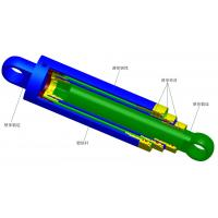 China High / low pressure hydraulic cylinder with copper cylinder liner for water conservancy on sale