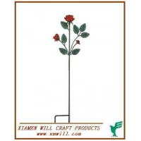 Metal Garden Stake/Stakes/Stick-artifical Flower Manufactures
