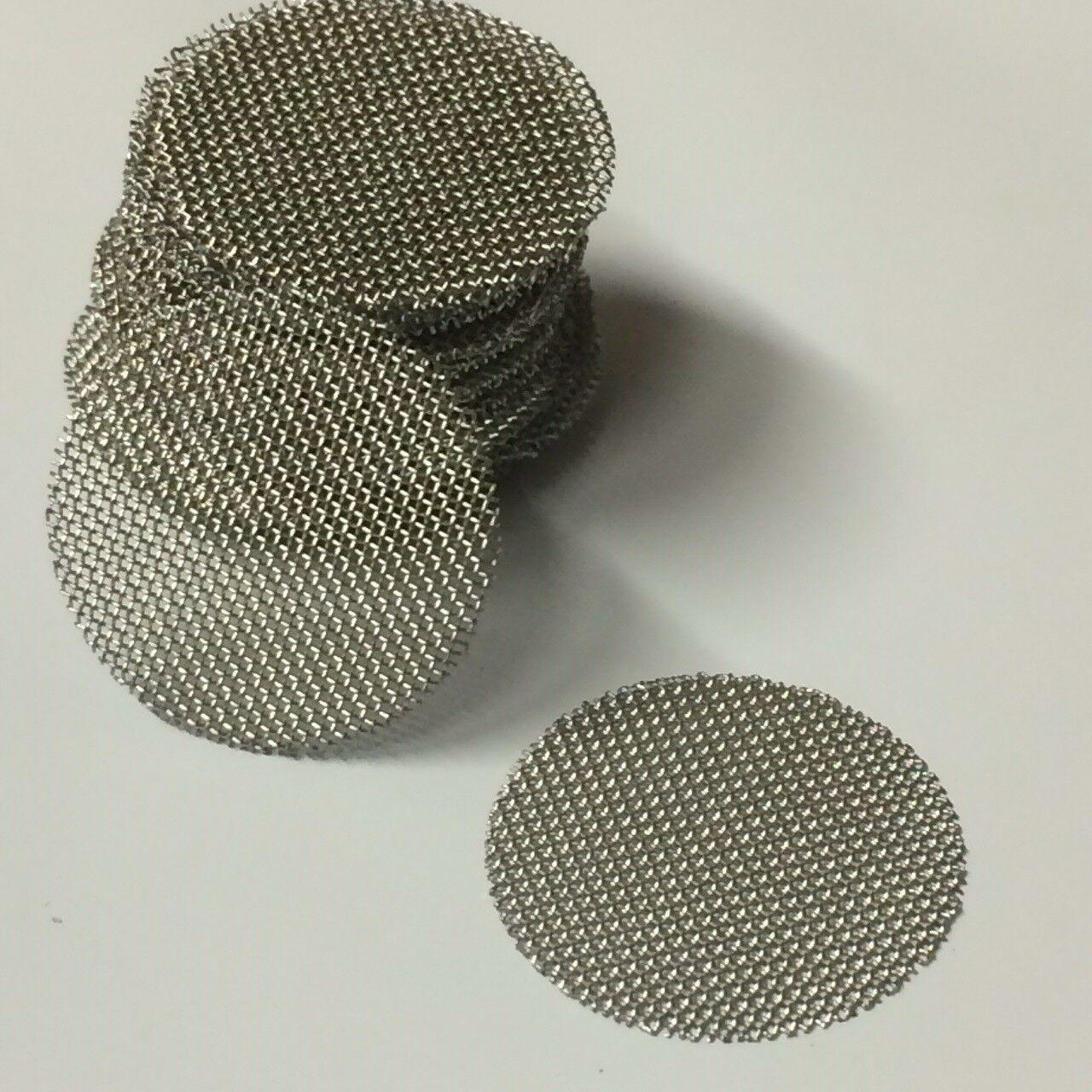 2-320L / Min Flow 316 Stainless Steel Knitted Wire Mesh Disc AISI304 0.04-1mm Thickness Manufactures