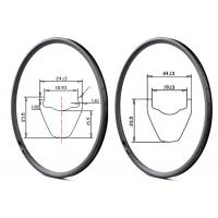 27.5 bike rims tubeless ready clincher mountain bicycle rims hookless mtb rim Manufactures
