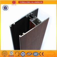 Wood Grain Aluminium extrusion Profiles For House Decoration GB5237.4-2008 Manufactures