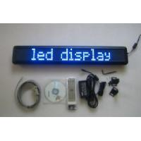 LED Sign 7x80 Semi-Outdoor Blue LED Display (BU780B762) Manufactures