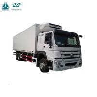 Refrigerated Box Container Heavy Cargo Truck 6x4 Diesel Fuel Type Maximum Speed 96km/H Manufactures