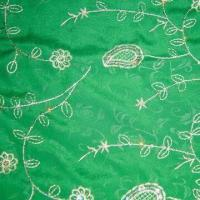 100% Cotton Embroidered Poplin Fabric Composition with 40 x 40 Yarn Count Manufactures