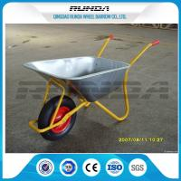 Metal Bracket Big Wheel Wheelbarrow 200kg Load 32x1.2mm Frame Thickness For Yard Manufactures