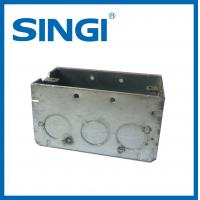 Quality Anti corrosion metallic Electrical Junction Boxes For Electrical Wire for sale
