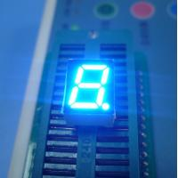 "Quality High brightness ultra red 0.39"" Single Digit 7 Segment Led Display common cathode for instrument panel for sale"