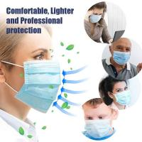 Antibacterial Disposable Surgical Mask Splash Repellent For Medical Staff Manufactures