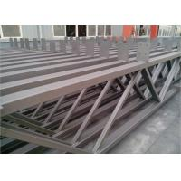 Q235b Light Square Tubing Trusses , Grey Metal Structural Beams For Surport Manufactures
