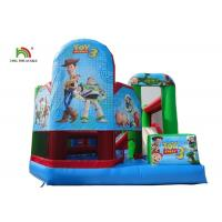 Buy cheap N Slide Water Jumping Castles Digital Print Clown Themed Bounce from wholesalers
