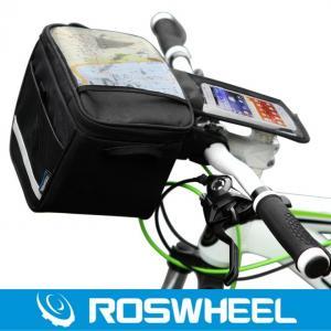 China Texture series handle bag fashion practical bicycle handlebar bag on sale