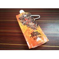 Custom Logo Spout Liquid Beverage Plastic Drink Pouches Bags Manufactures