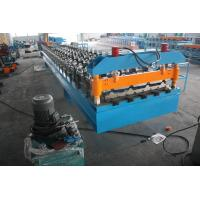 Customized 3Phase 60Hz Deck Roll Forming Machine for Galvanized Steel Sheet Manufactures