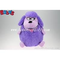 China Factory Direct Sale Purple Plush Sheep Backpack With Big Mouth on sale