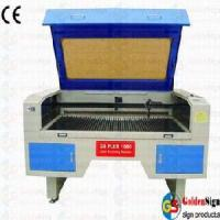(CE&FDA) Goldensign Double-Head Movable Laser Cutting Machine Manufactures