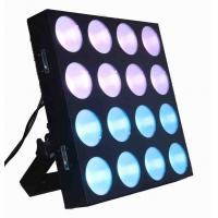 16x30w Rgb 3 In 1 Full Color Cob Led Matrix DJ Stage Lights For Disco Background Manufactures