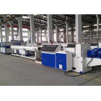 UPVC / Pvc Pipe Production Line , Full Automatic Plastic Pipe Making Machine Manufactures