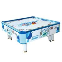 China Square Cube Electronic Air Hockey Table Game Machine For 2 Players on sale