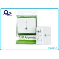 Foldable US Plug Qualcomm 3.0 Multi Wall Charger 4 USB Ports Mobile Charger Manufactures